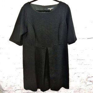 EUC! BROOKS BROTHERS Black Sheath Dress